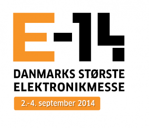 Logo for electronics fair E-14